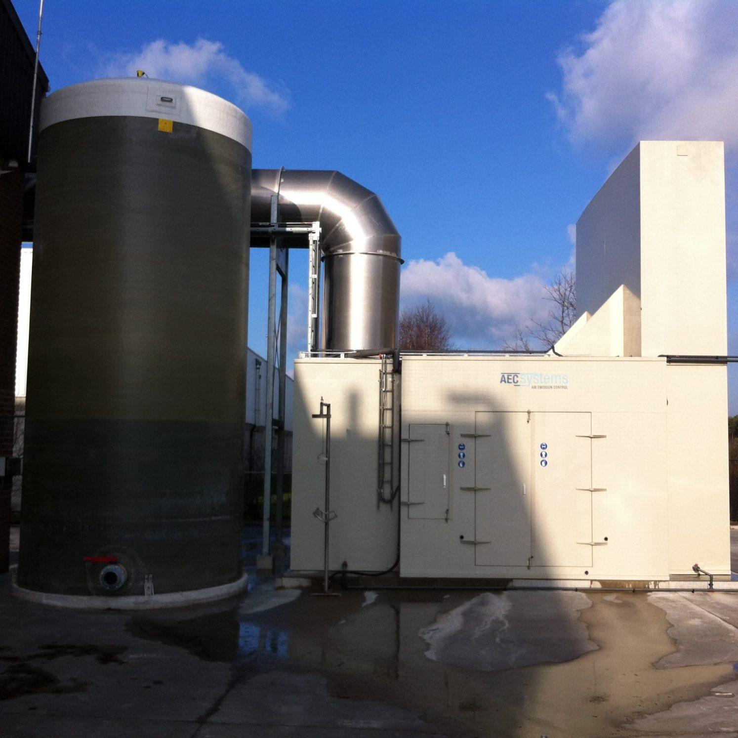 luchtwasser AEC scrubber